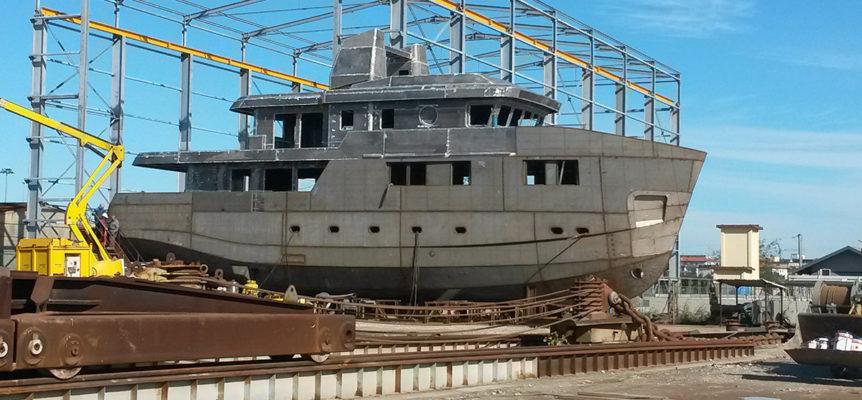 OK100's shipyard