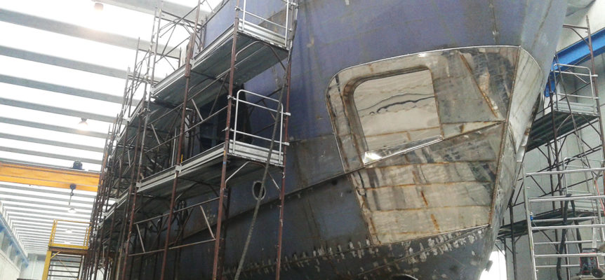 EB100's shipyard