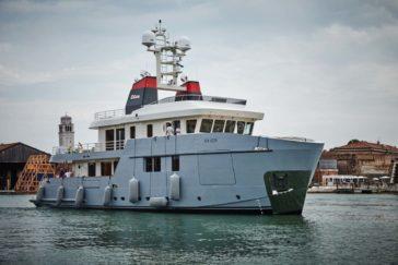 Presentazione dell'Explorer Yacht Carolin IV