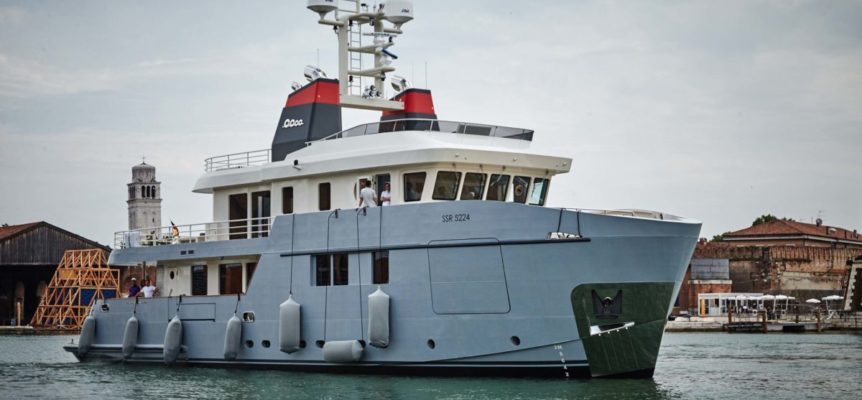 Presentation of Explorer Yacht Carolin IV