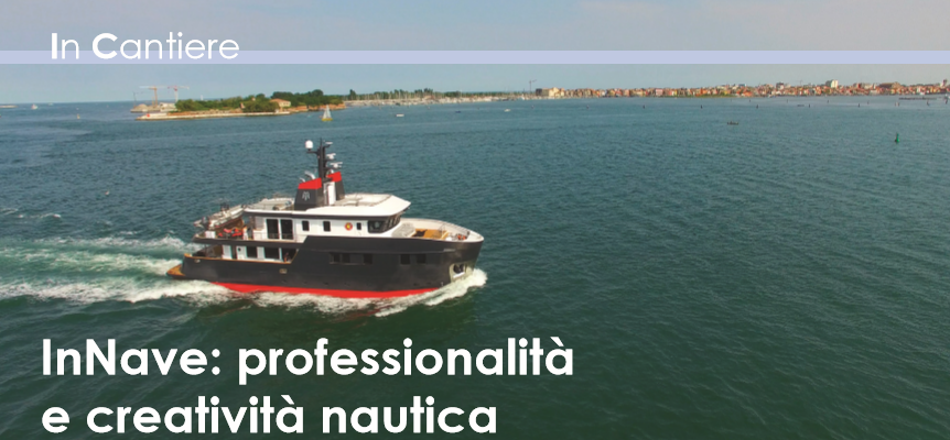 inNave's Professionality and Creativity on Lagunamare Magazine
