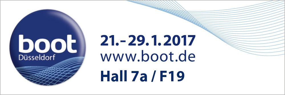 Boot Düsseldorf 2017 // Hall 7AF19
