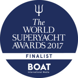 Carolin IV è Finalista al Superyacht Awards 2017