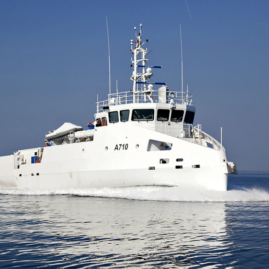 Zarzis A710 Diving Vessel Finalized and Delivered
