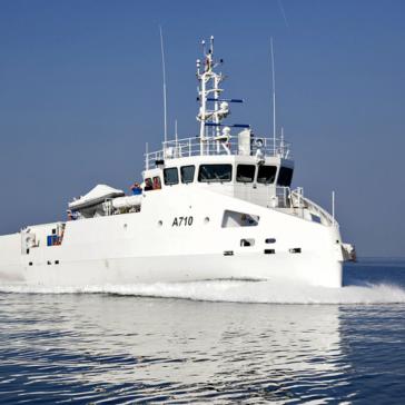 finalizzata e consegnata la nave scuola zarzis a710